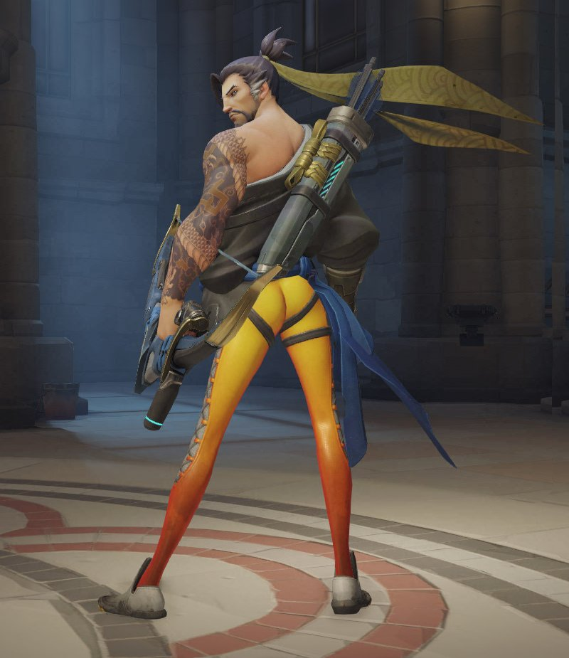 OK Who did this?! #Overwatch #Buttgate https://t.co/ULXOe9BMVX