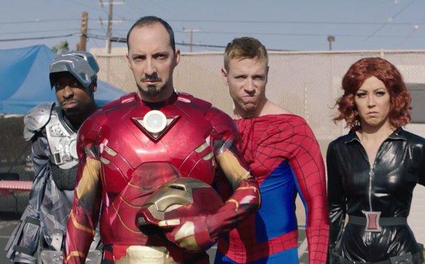 'CaptainAmericaCivilWar Reenactors' pokes fun at the Marvel faithful: