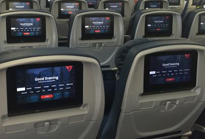 Delta in-flight entertainment to get new look, 'like interacting w/ an iPhone'