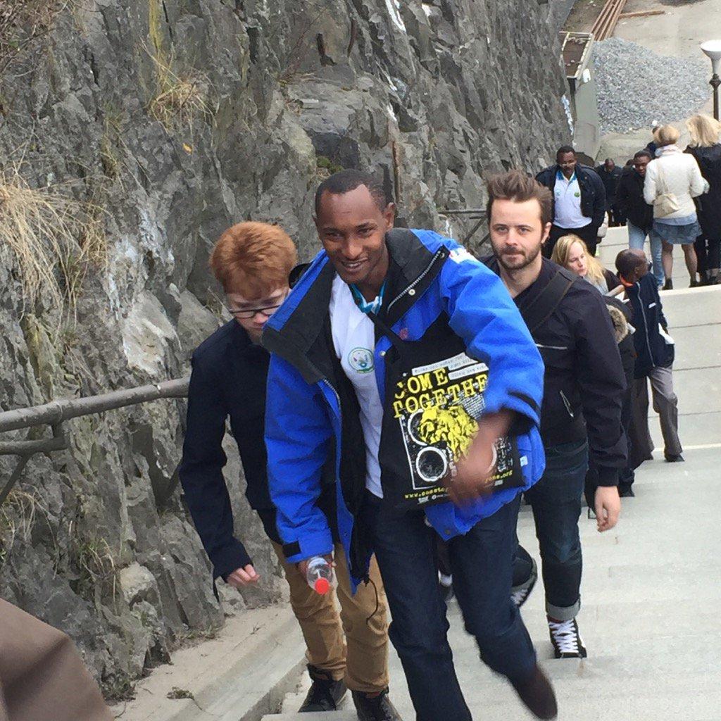 test Twitter Media - #tbt till april när våra vänner från Tanzania o Rwanda var här på besök. Emmanuel visar vägen uppför. #cometogether https://t.co/twLtepmXcL