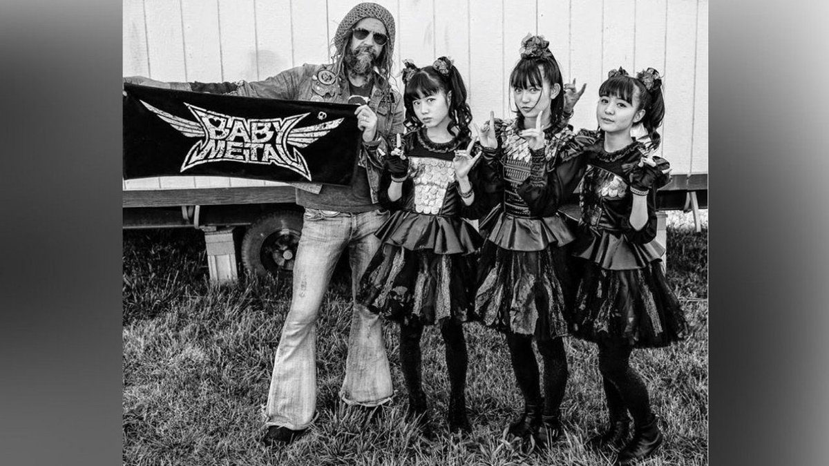 .@RobZombie is a @BABYMETAL_JAPAN fan https://t.co/A1WdFvPykO https://t.co/YruCS4jT93