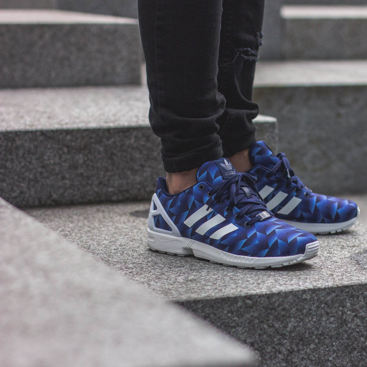 save off af5b2 31b88 ... get the adidas originals zx flux geometric pack is only available at  a4df9 108b8