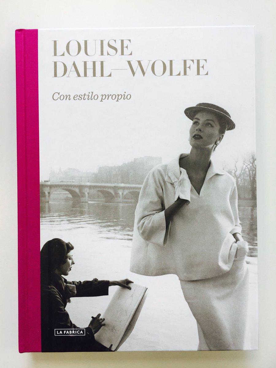 Un plan para hoy: a las 19:30 se presenta el libro sobre Louise Dahl-Wolfe en La Fábrica (Alameda, 9. Madrid) https://t.co/lGU94IDPRb