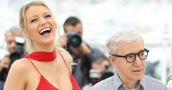 Woody Allen wasn't offended by a rape joke at Cannes, but Blake Lively was: