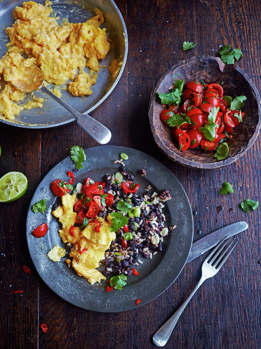 #RecipeOfTheDay - This Costa Rican dish from @JamieMagazine is great for breakfast! https://t.co/yhyP24tn5e https://t.co/ineocsWd2Y