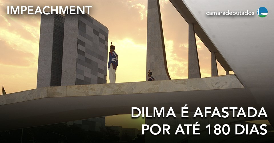 Senado aprova abertura de processo de impeachment e afasta Dilma por até 180 dias. https://t.co/4pvZ60W28Y https://t.co/Mh9pmMz0Cs