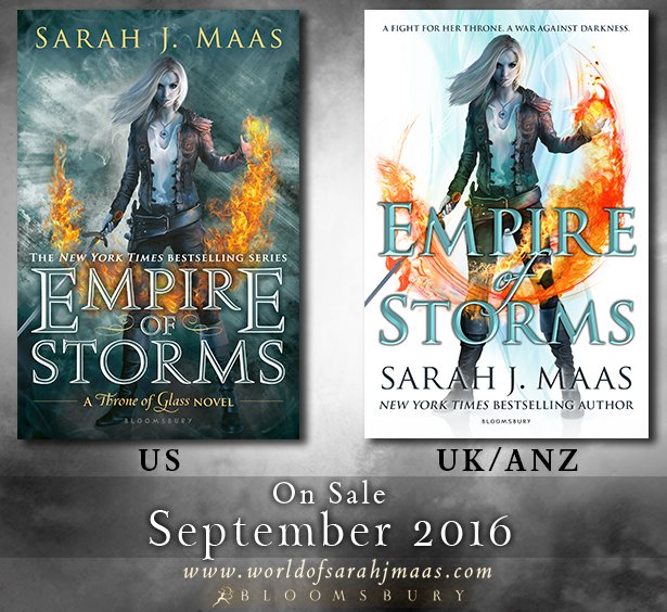 In all its glory: @SJMaas's EMPIRE OF STORMS! https://t.co/0TBkszYieB