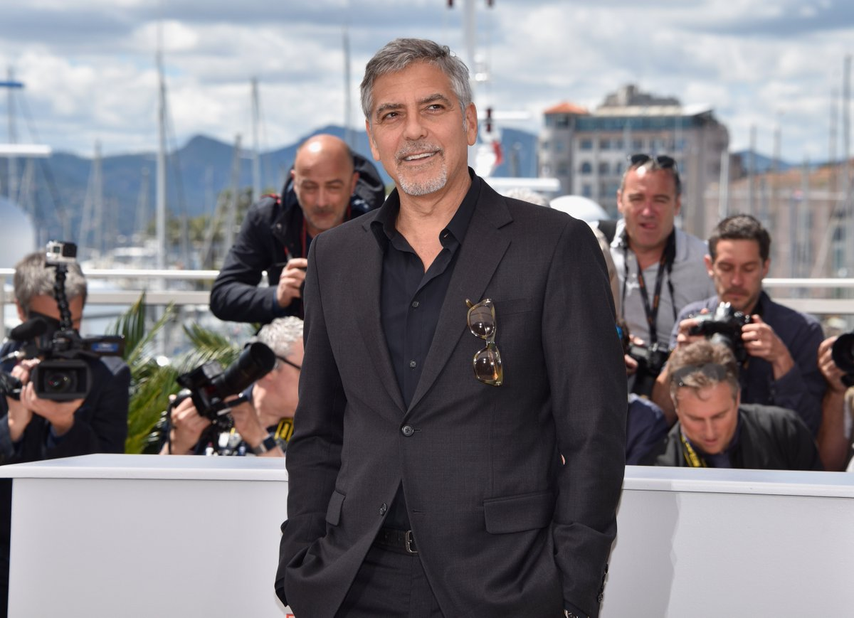 George Clooney spoke out about Donald Trump at Cannes: