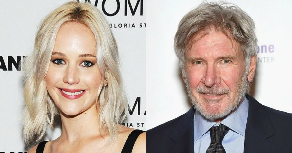 Jennifer Lawrence made a fool of herself in front of Harrison Ford: