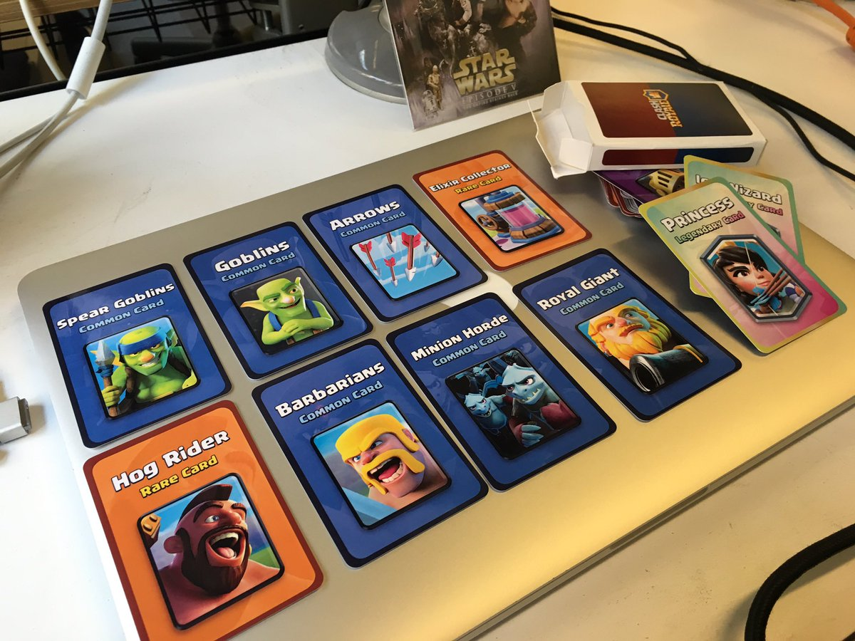 Totally awesome @ClashRoyale gift from @MrErnestLe!  TY bro! https://t.co/eliUEpG56n