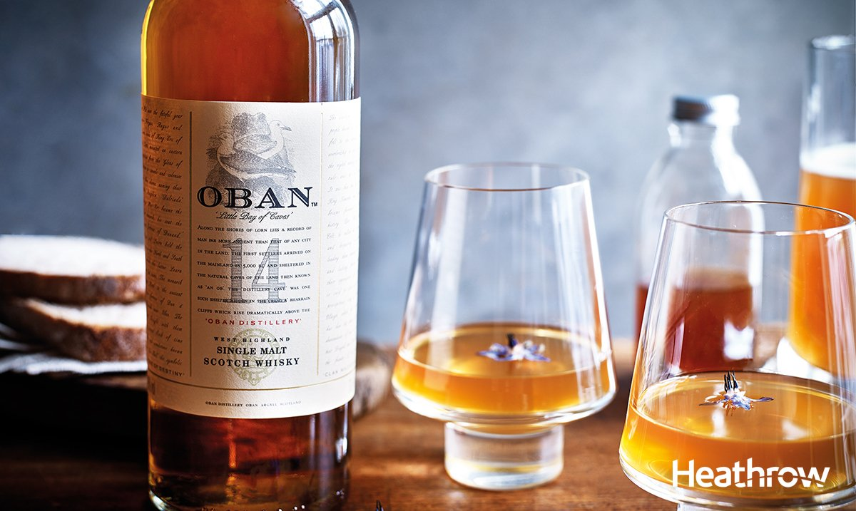 Rich spices make Oban 14 y/o the perfect cocktail ingredient. Download our recipe: