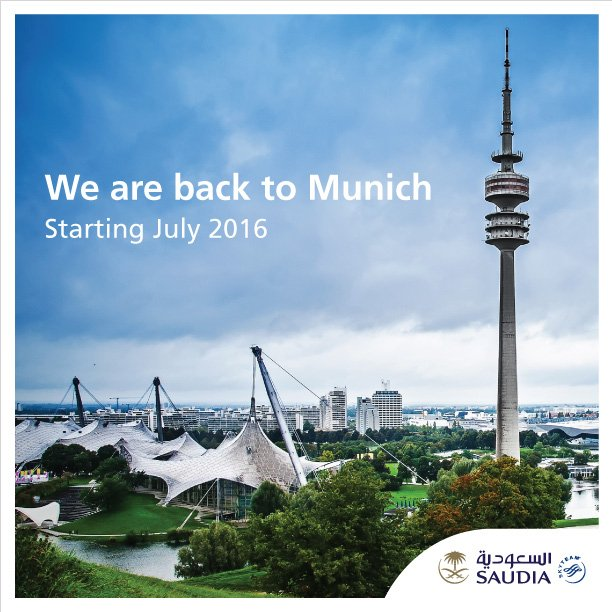 We are back to Munich  Book