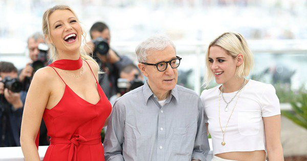 Blake Lively continues to defend Woody Allen and says he is
