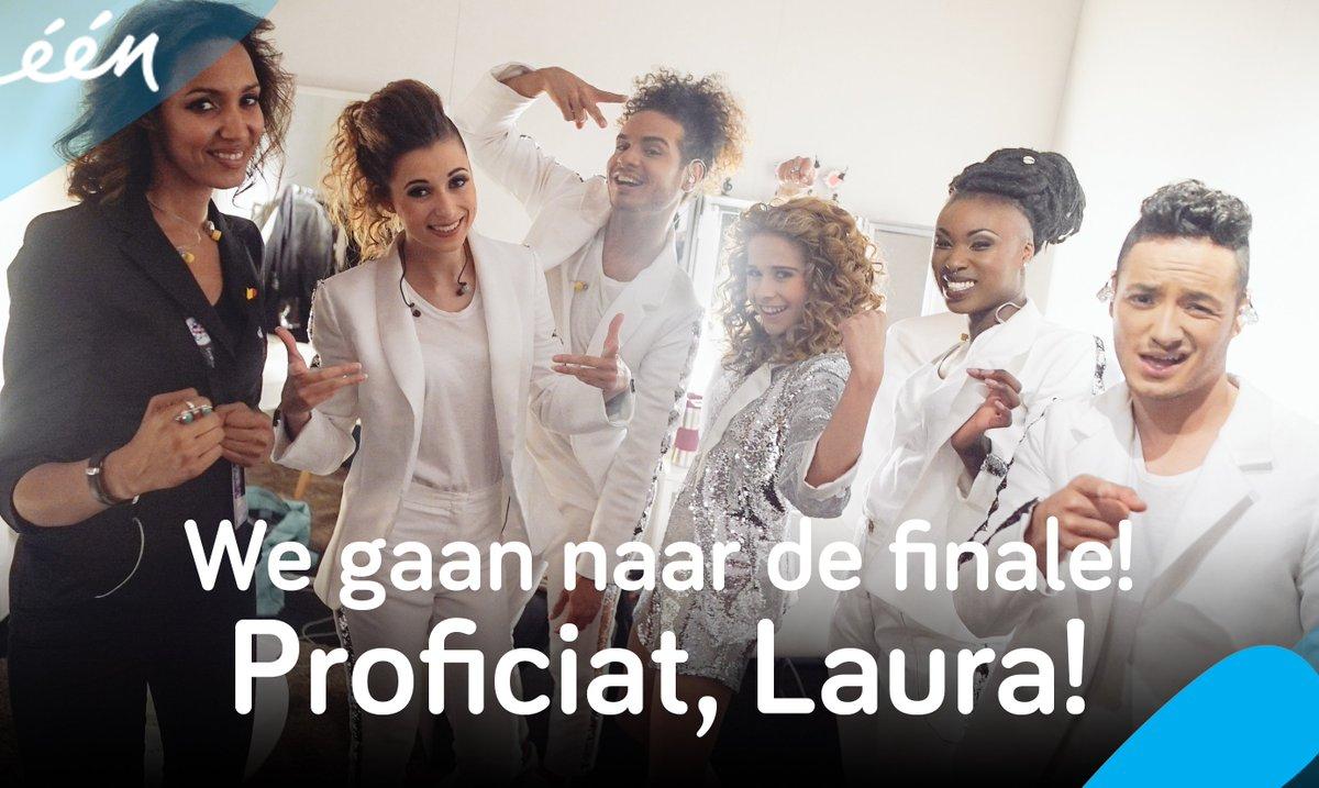 Tot zaterdag!! #TeamTesoro #Eurovision #BEL https://t.co/Iiqo3i3Lic