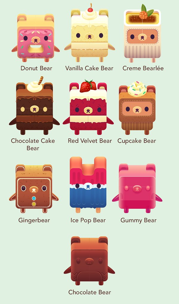 On top of #bushidobear, we also shipped the long-awaited Dessert Bears chapter for #alphabear today! https://t.co/isRpMlxs4Z