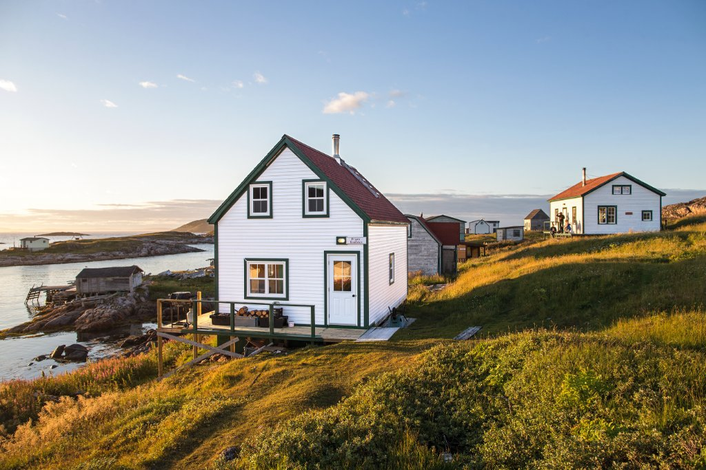 Destination: BattleHarbour. Our team @enRoutemag navigates the Labrador coastline: