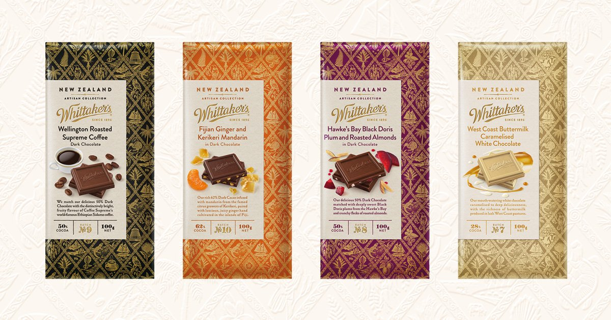 Hello Twhittaker's. We've discovered four new artisans. You should too. In stores from Monday
