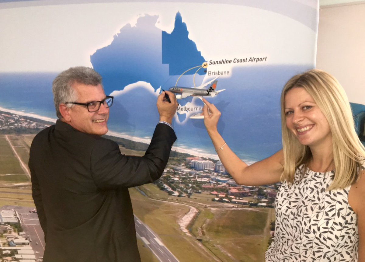 Jetstar launches only direct flights between @AdelaideAirport & @SunCoastAirport