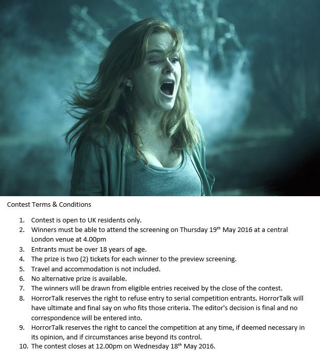 Follow & RT to WIN 2 TIX to special London screening of ace new @LionsgateUK Isla Fisher horror VISIONS at 4pm 19/5 https://t.co/rB3nxEH0I6