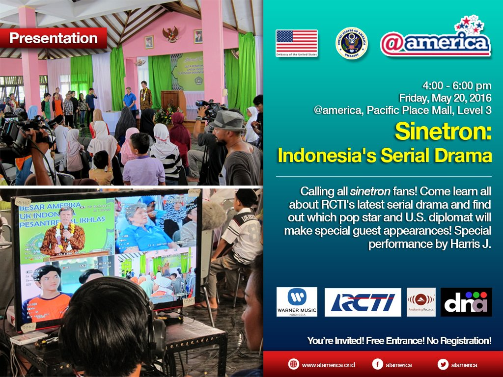 Jumat depan ada yang seru di #atamerica info: https://t.co/1LB6RfsTci  See you! #TVIndonesia https://t.co/qzde7Zur7D