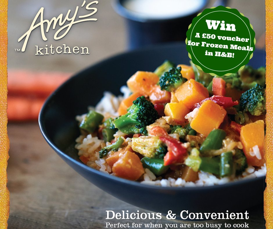 Fill your freezer with @AmysKitchenUK #FreeFrom treats! To #win, share with us your family favourites at meal times! https://t.co/n2x7kvCnZn