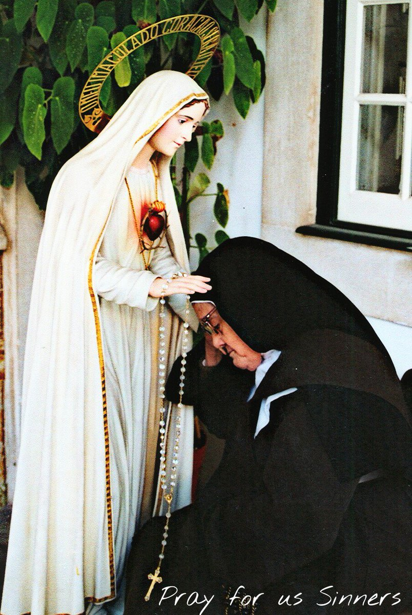 Our Lady of Fatima pray for us sinners! Our life, our sweetness, & our hope to thy do we cry! #catholic I edited it https://t.co/2fGPOOoJ7v