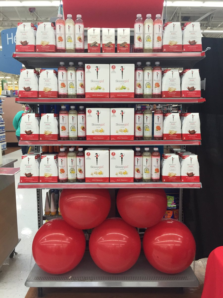 Getting set up @Walmart in Secaucus NJ! Come meet @Bethenny at 11am and try a shake or bar! https://t.co/nSNof1qtmW