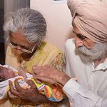 Doctors worried after 70 year-old woman gives birth to first child