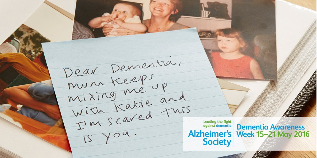 Today is the start of #DAW2016. This year we're asking everyone to confront Dementia: https://t.co/Cw1jGkypae https://t.co/Bebh2eUClX