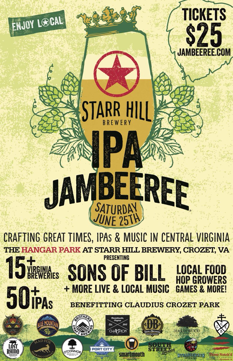 IPA #JAMBEEREE is coming! Stay tuned for updates on rare IPA selection & more! Get tickets https://t.co/ZA6pAbOAEh https://t.co/PclqPdD3Wq