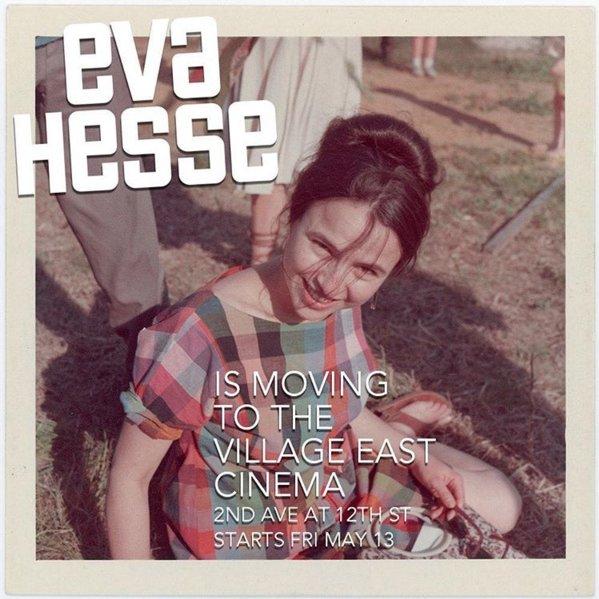 Starting today, the must-see @EvaHesseDoc is moving to @CityCinemasNYC: https://t.co/OyiYTXVE3V #EvaHesseNYC https://t.co/zu0cdeowFf