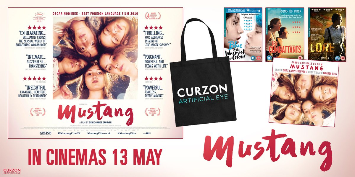 COMPETITION! RT for your chance to win @mustangfilm poster & soundtrack + @ArtificialEye tote bag & DVD selection! https://t.co/WqRGax67oI