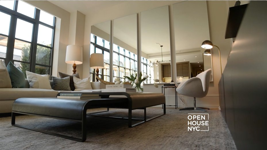 A one bedroom penthouse in #GreenwichVillage designed by @FredrikEklundNY of #MDLNY! This weekend on #OpenHouseTV. https://t.co/2pFh10tfmd