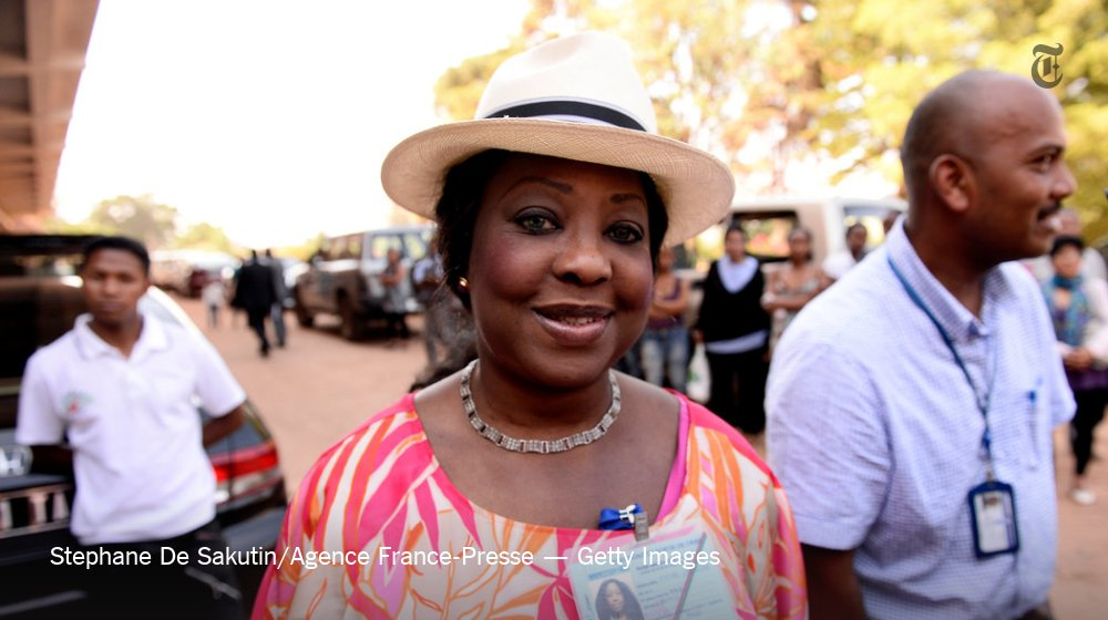 Fatma Samoura, the new secretary general, would be the highest-ranking woman in FIFA history