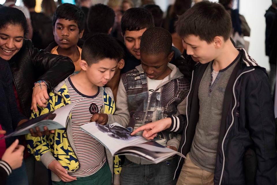 Créations des jeunes @Fabrique_Regard dans l'espace du BAL. Jusqu'à demain 14/05 pour les découvrir ! - © M. Baisnée https://t.co/MQXJhRFPqc