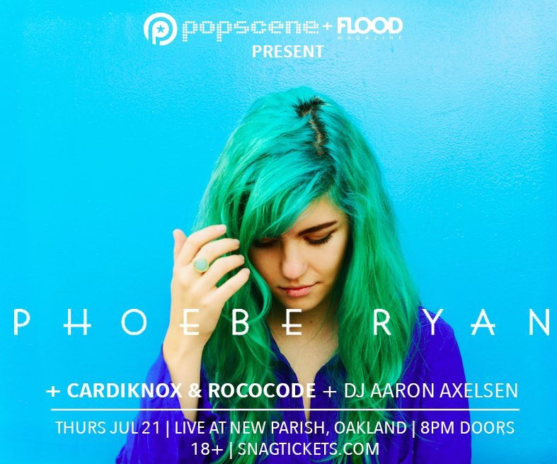 It's an Oakland affair: @popsceneSF comes to @thenewparish on 7/21 for @ph0eberyan @cardiknox @ROCOCODE! Onsale now https://t.co/HLDmkwDUDO