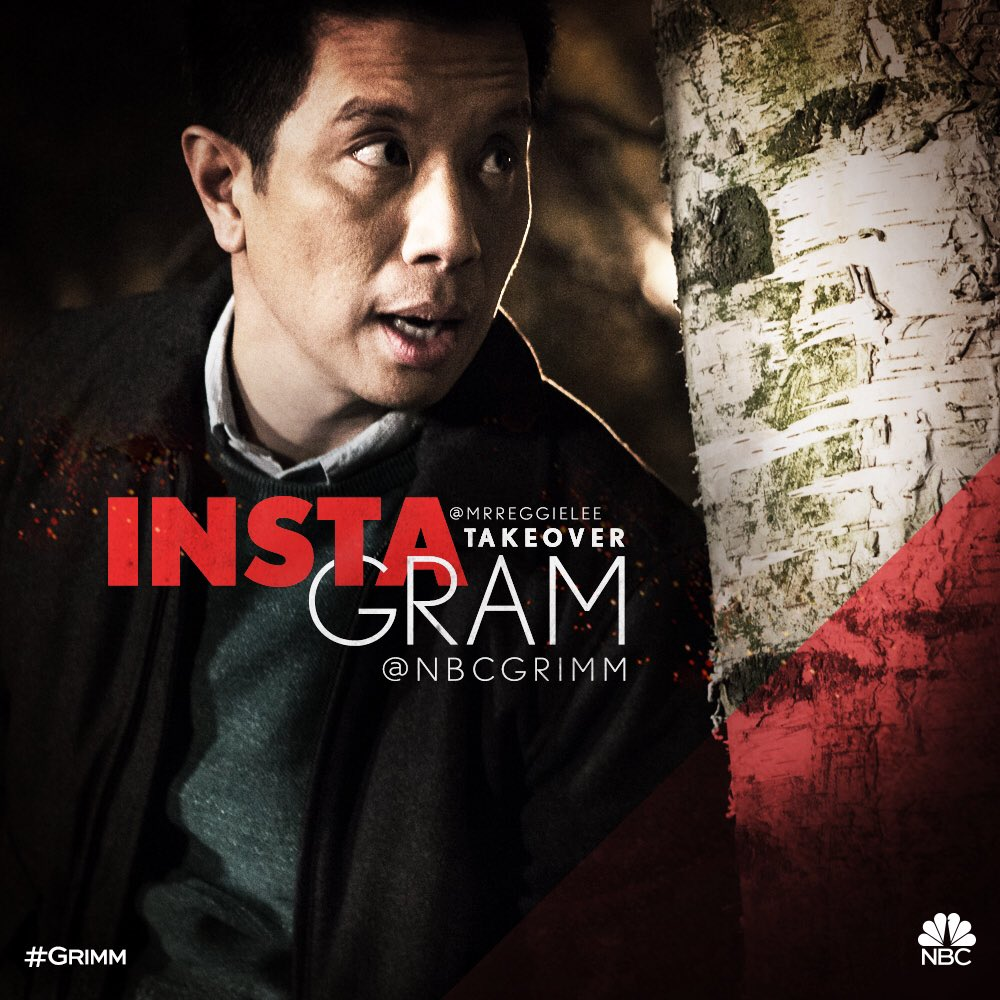 Taking over the @NBCGrimm Instagram account today Friday the 13th!! It's #Grimm Day y'all!! Wuhuuuuu!!! #