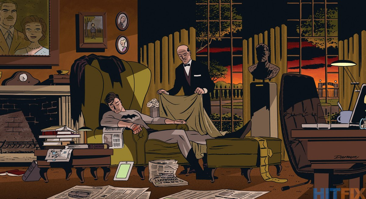 Darwyn Cooke, Detective Comics #37 https://t.co/q8axhuMD7q
