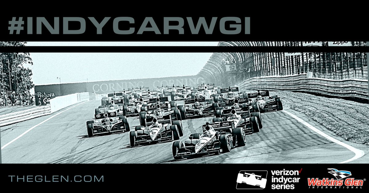 .@IndyCar is back at The Glen, Sept. 1-4!  #INDYCARWGI https://t.co/F7srfegIut