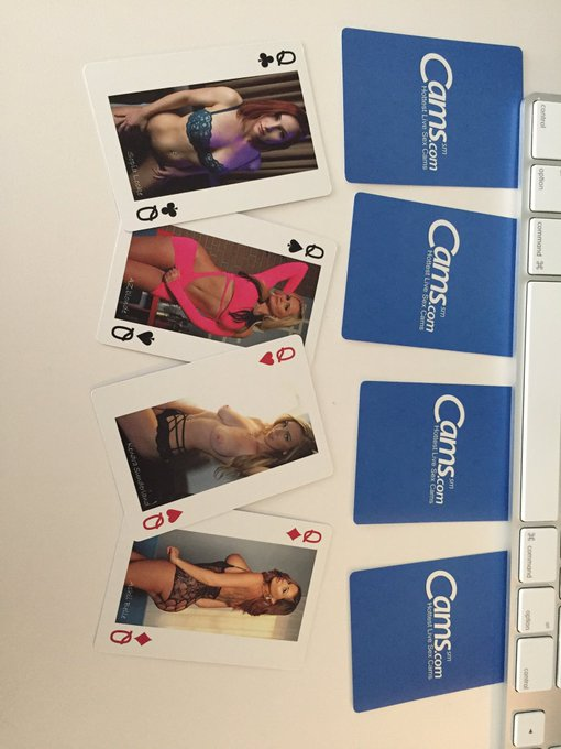 Want to win a set of Cams cards? Be the top spender this weekend for all of the girls tagged and one