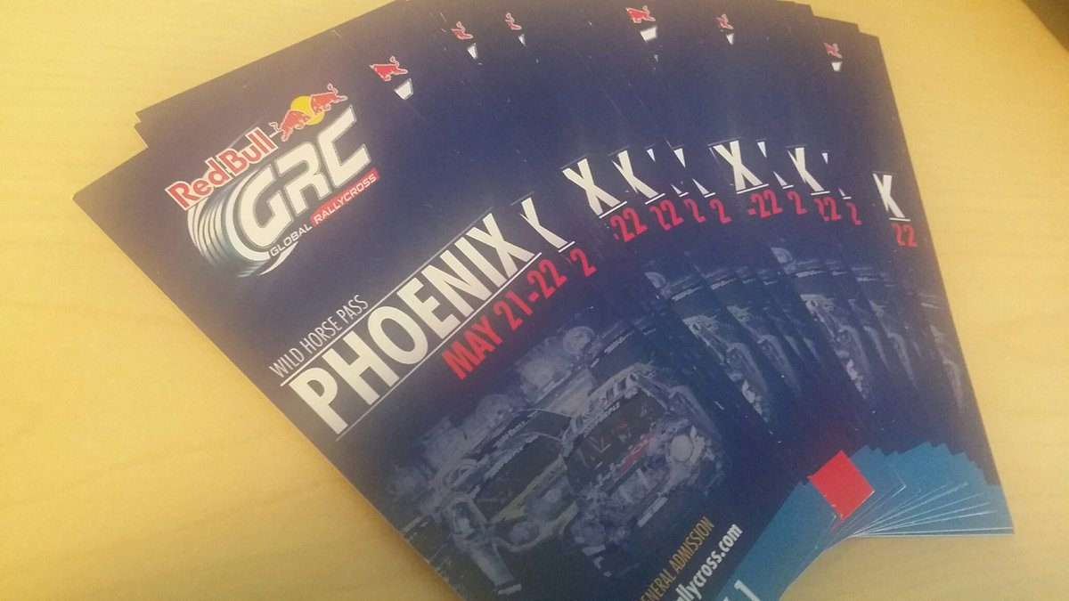 We have your tickets into the @RedBullGRC in Phoenix.  Like and retweet for your chance to win. https://t.co/wCSvmSFZuv