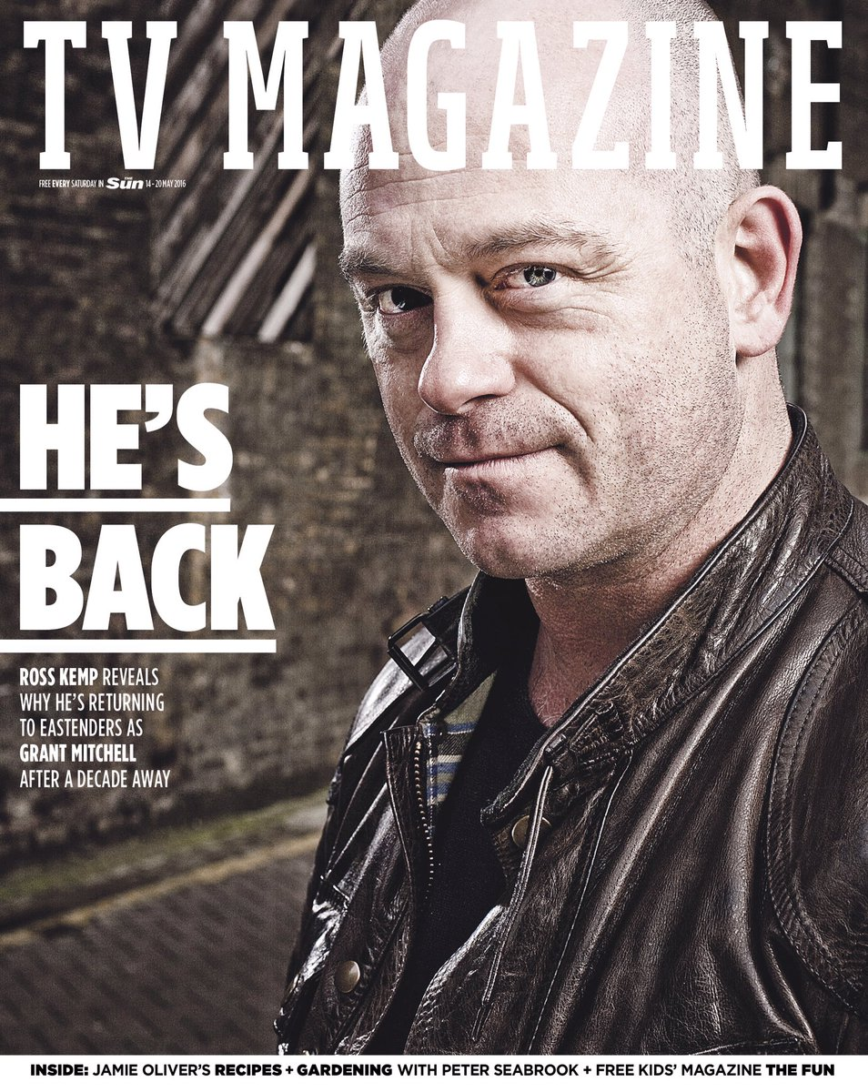 Tomorrow, the interview you've been waiting for #EastEnders fans... @RossKemp. Grant. Is. Back. #GrantMitchell https://t.co/ForpDCWx8M