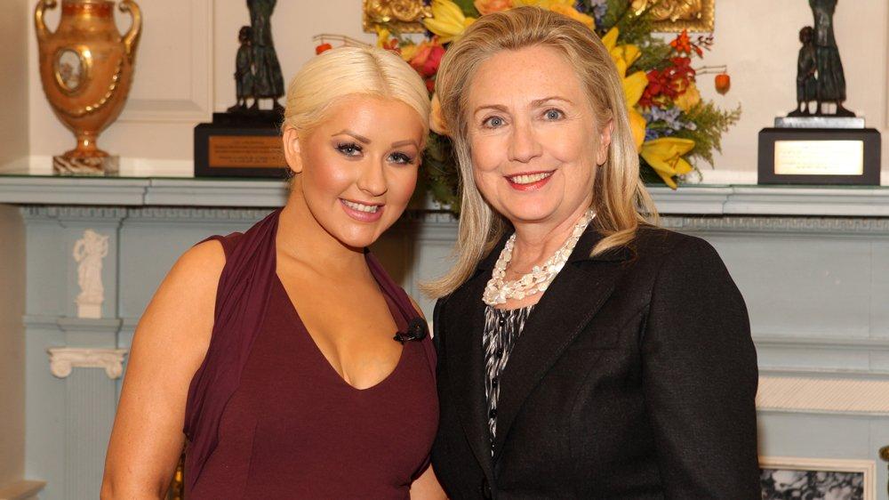 .@xtina, @johnlegend, Stevie Wonder to lend voices to @HillaryClinton campaign