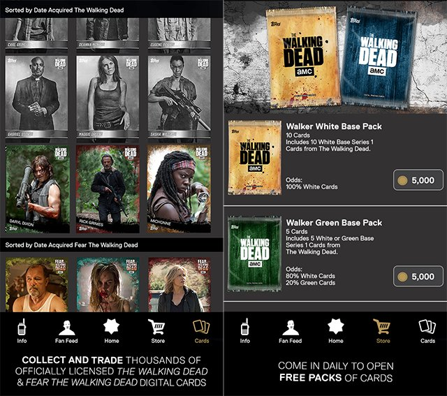 .@Toppscards, AMC Launch The Walking Dead: Card Trader on Mobile https://t.co/rtyoS37KML https://t.co/W9TYber5d7