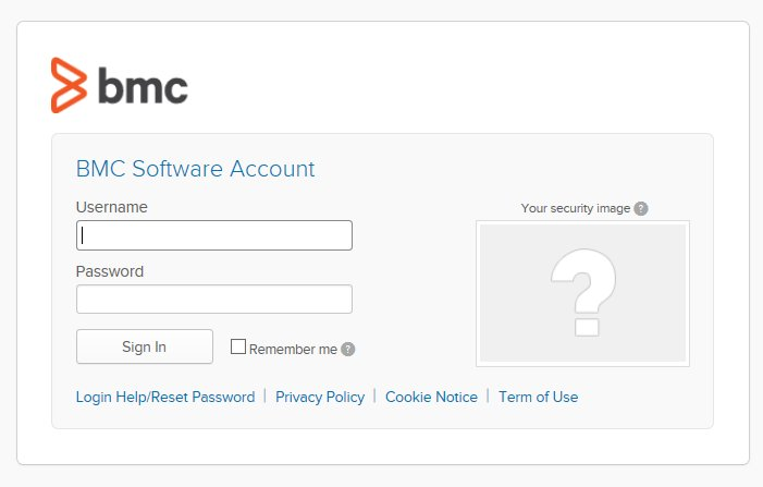 When you'll go again on BMC Communities next week, authentication will be like BMC Docs, BMC Academy or Support