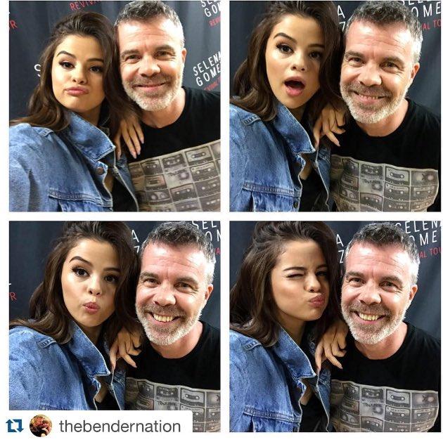 The #BenderSelfie is on point tonight! #SelenaGomez #KISSFMSEATTLE https://t.co/30N65ZJacW