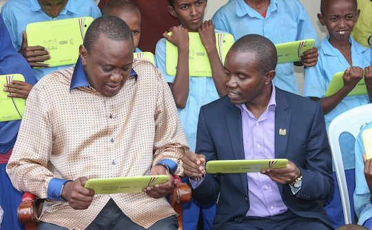 Digital Literacy Programme ready for roll out, President Kenyatta says