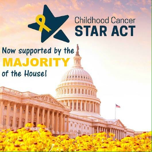 #ChildhoodCancer advocates, great job! Now, that other 1/2...