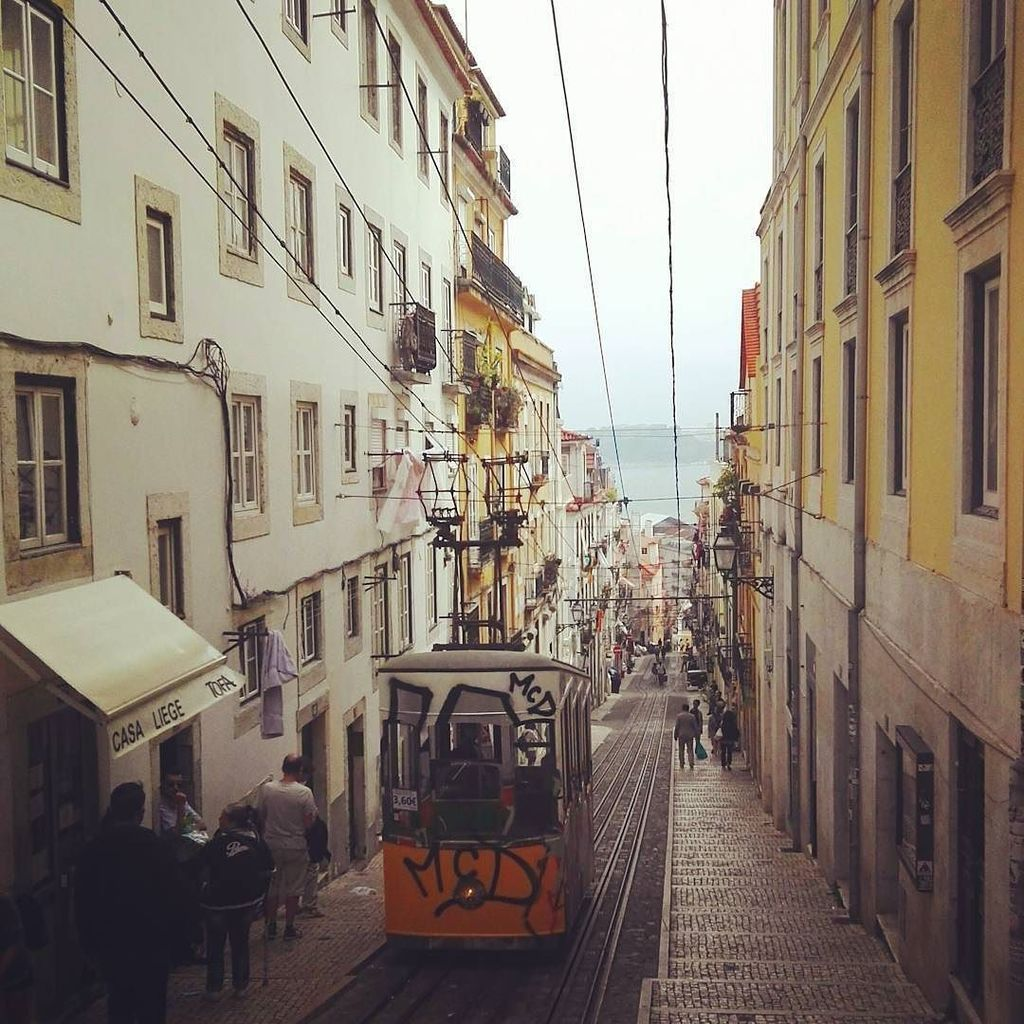 Time to gest lost in this beautiful city! #lisbon #portugal #bairroalto by daninzzz https://t.co/7nW9dZEwfH