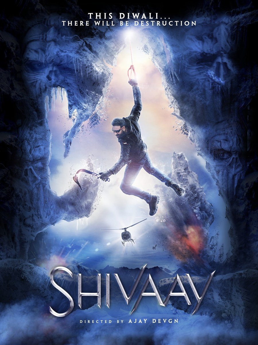 Here is the latest poster of Shivaay, tell me what you think about this?? https://t.co/755tYBHbsn